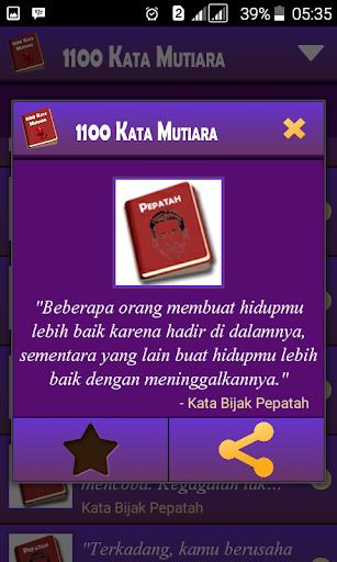 1100 Kata Mutiara 1.7.8 screenshots 5