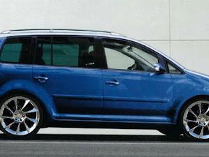 ゴルフトゥーランのカスタム事例画像 青色の可愛いドイツ車さんの2020年01月17日23:04の投稿
