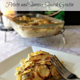 Potato and Summer Squash Gratin
