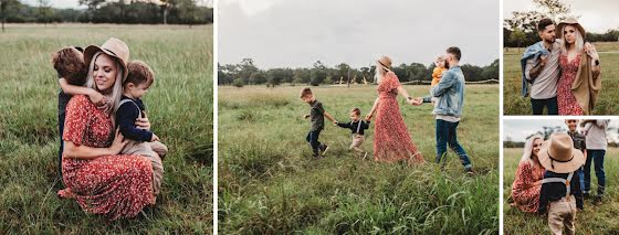 Grassy Collage - Mother's Day Template