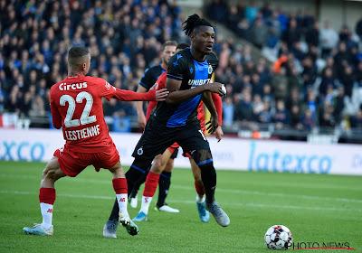 """Le Club de Bruges mis en difficulté : """"Nous étions très mauvais en première période"""""""