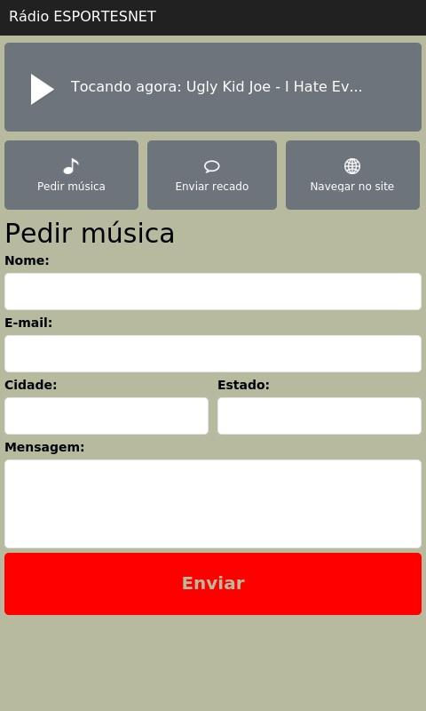 Rádio ESPORTESNET- screenshot