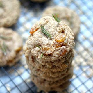 Golden Raisin Rosemary Oatmeal Cookies