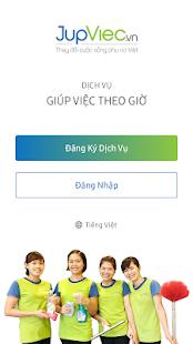 Download JupViec.vn: Giúp việc theo giờ For PC Windows and Mac apk screenshot 1