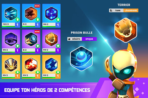 Télécharger Gratuit Heroes Strike - 3v3Moba & bataille royale -Offline mod apk screenshots 3