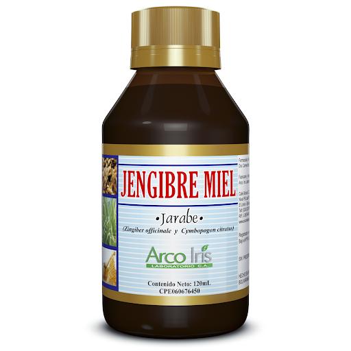 Jengibre-Miel Jengibre Miel Jarabe 120 ml