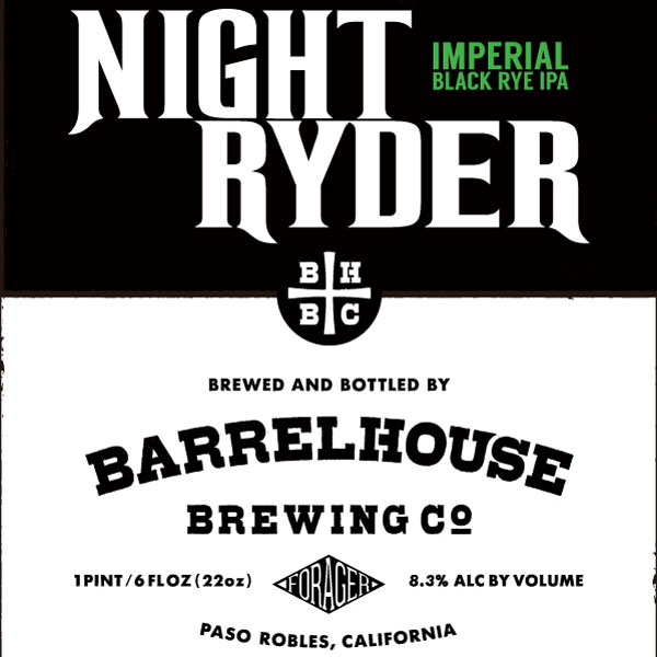 Logo of BarrelHouse Night Ryder - Imperial Black Rye IPA