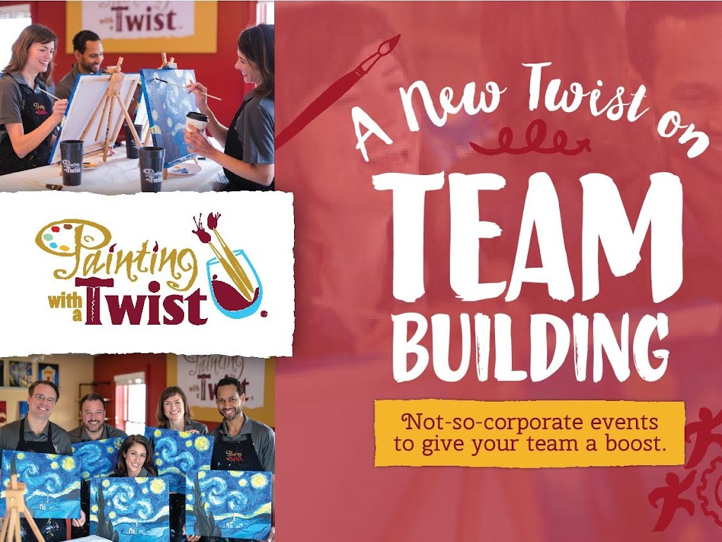 Team Building ideas from Painting with a Twist