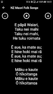 NZ Maori Folk Songs - náhled