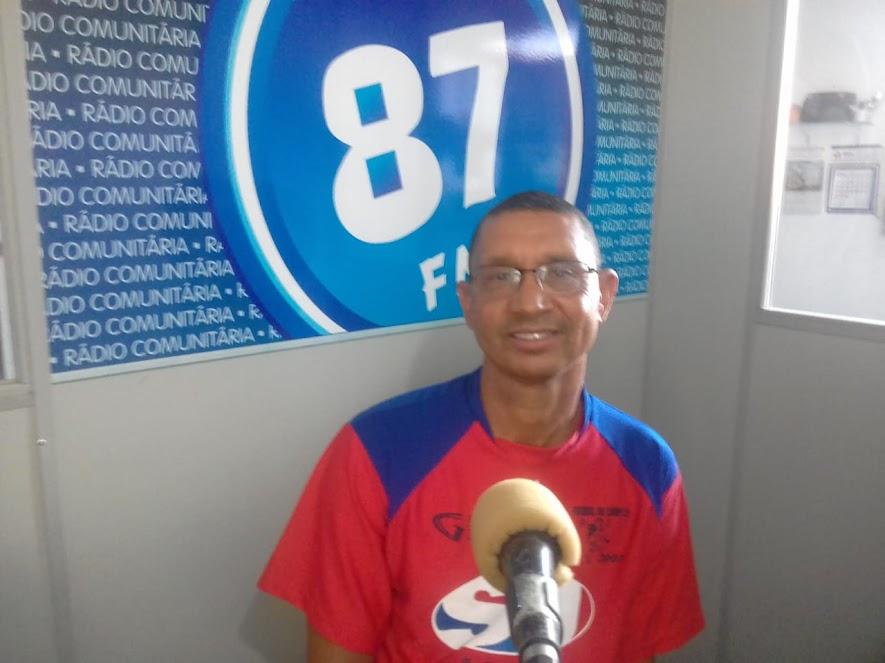 Antonio Carlos, jogador do Posto São Paulo Minas