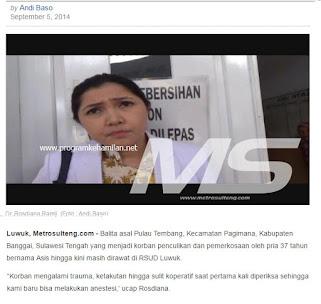 wawancara oleh mediasulawesi.com kepada dr rosdiana ramli