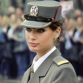 Cadet by Boris Bajcetic - People Portraits of Women