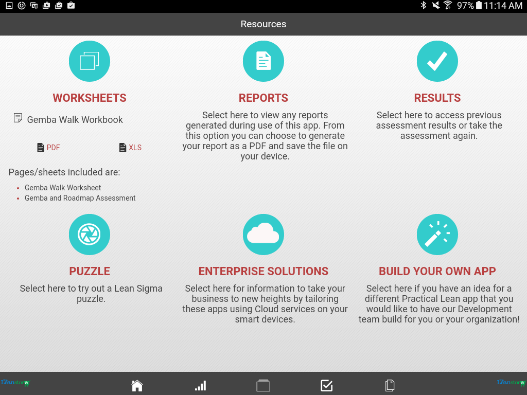 Manufacturing gemba walk android apps on google play manufacturing gemba walk screenshot pronofoot35fo Choice Image