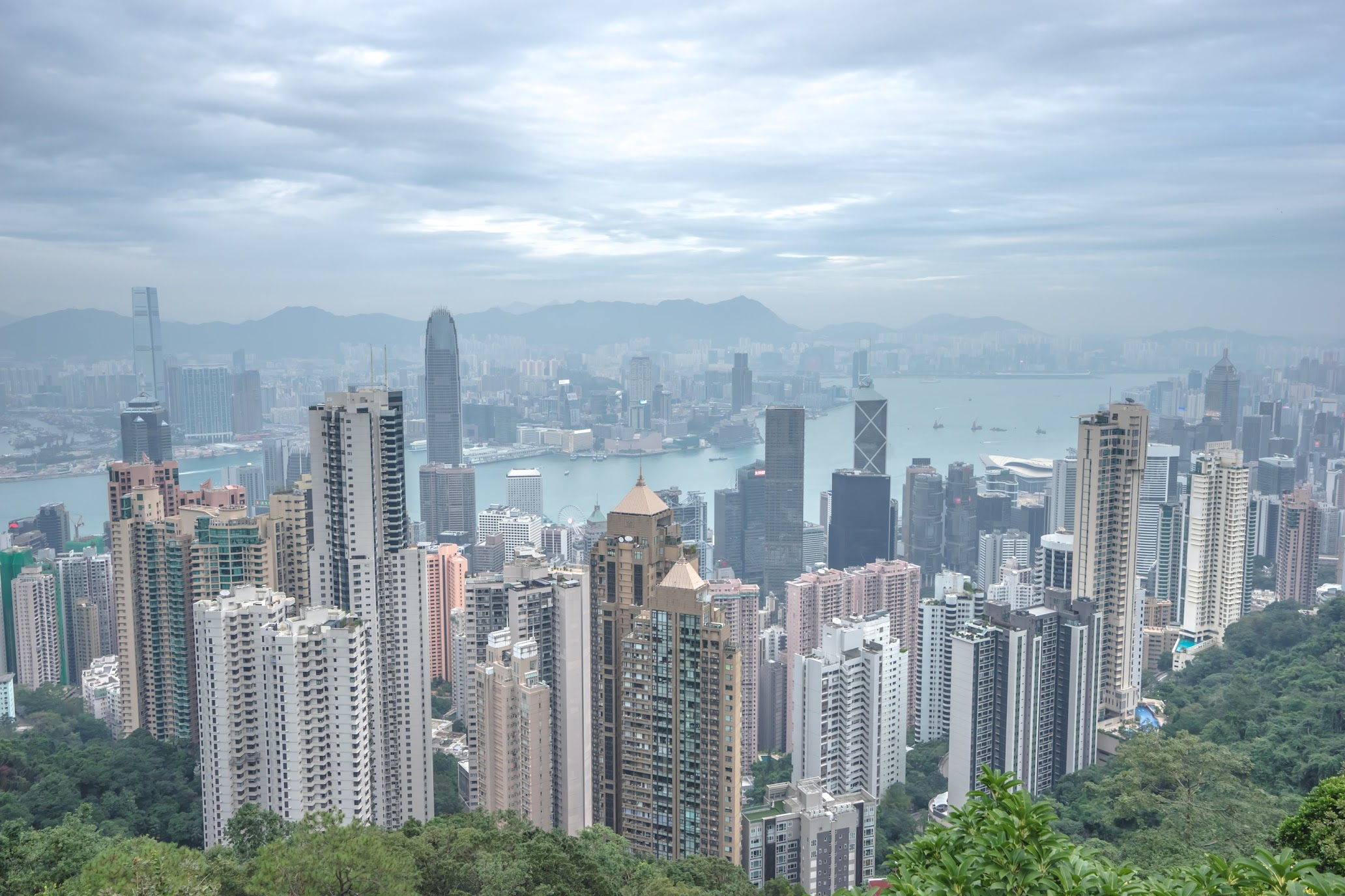 香港 ビクトリア・ピーク 獅子亭展望台2