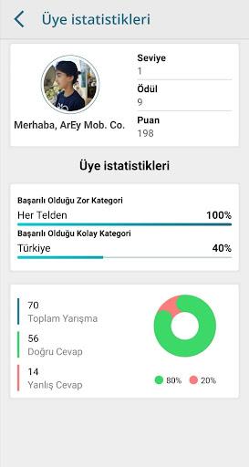 ArEy CrossWord : Karşılıklı Bilgi Yarışması screenshot 15