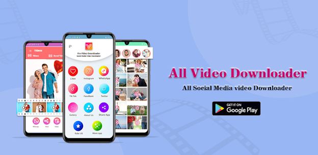 Baixar Vdownloader Social Media Video Downloader – {Atualizado em 2021} 1
