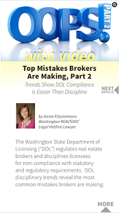 Washington Realtors- screenshot thumbnail