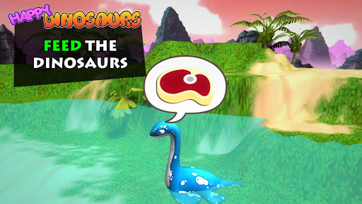 Happy Dinosaurs: Free Dinosaur Game For Kids! screenshots 2