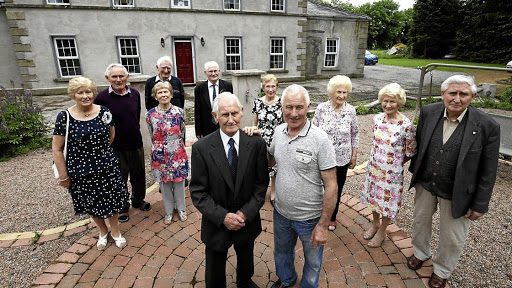 The Donnellys, living in rural County Armagh, Northern Ireland, are thought to be the oldest group of siblings in the world.