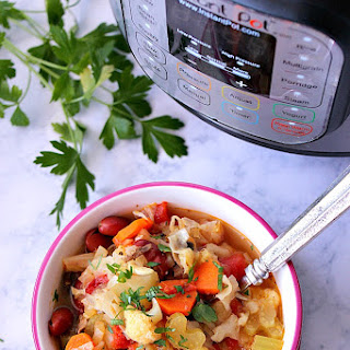 Instant Pot Weight Loss Vegetable Soup.