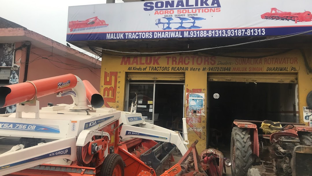 Maluk Tractors (Sonalika Rotavator) - Agricultural Product
