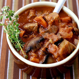 Slow Cooker Beef Stew Provencal