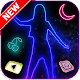 Neon, Dance, Girl Themes, Live Wallpaper Android apk