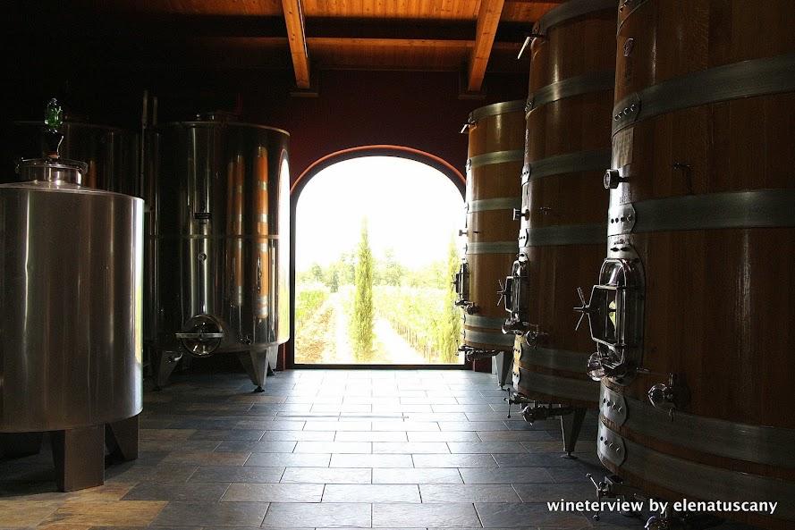 le potazzine, cantina, winery, montalcino winery