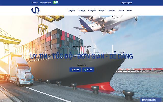 Công Cụ Đặt Hàng Của Văn Thành Logistics