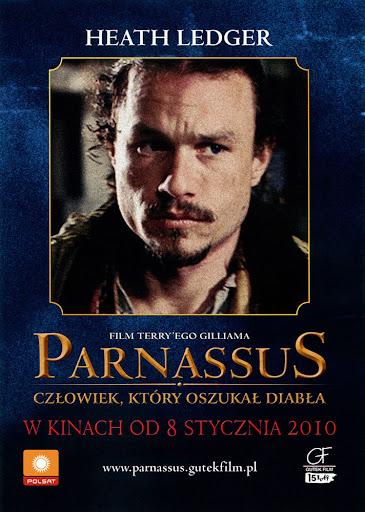 Przód ulotki filmu 'Parnassus'