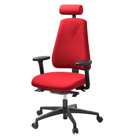 Stol Lanab 6340 komplett   röd
