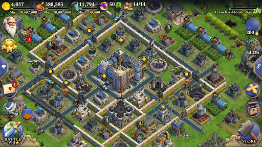DomiNations Asia game (apk) free download for Android/PC/Windows screenshot