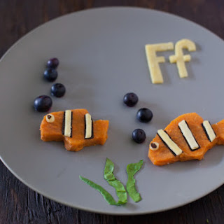 Healthy Toddler Snacks F is for Fish.