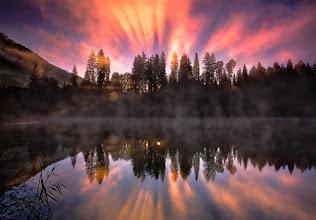 "Photo: ""Fanfares Of Light"" - Switzerland   #PlusPhotoExtract"