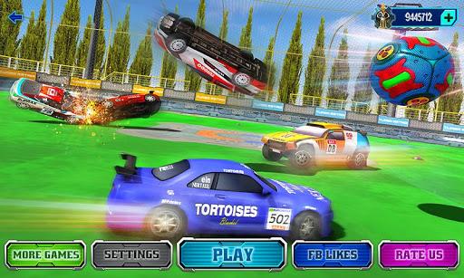 Rocket Car Soccer League: Car Wars 2018  screenshots 1