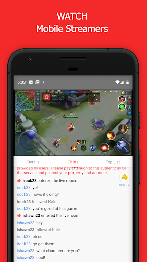 Game.ly Live - Mobile Game Live Stream 1.1.16.24659 screenshots 2