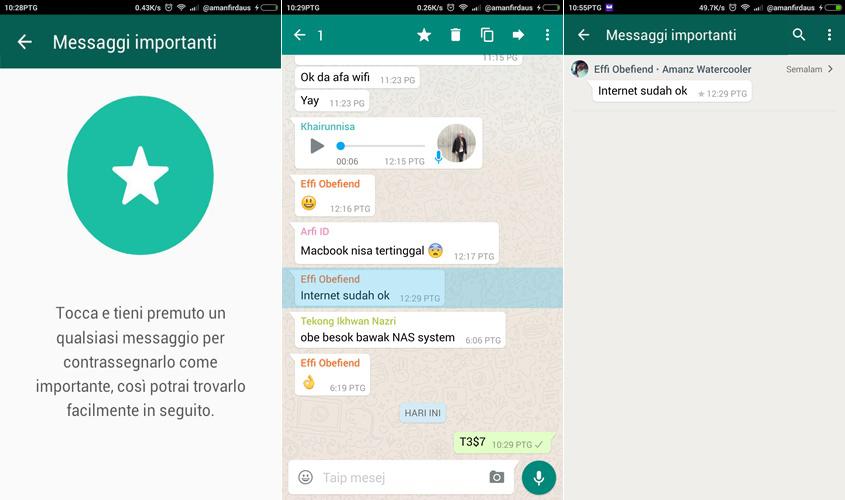 Trucchi WhatsApp: Come salvare i messaggi importanti