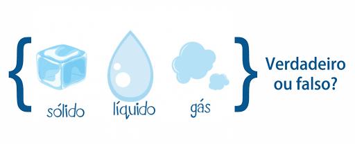 Sólido, Líquido ou Gás - Verdadeiro ou Falso