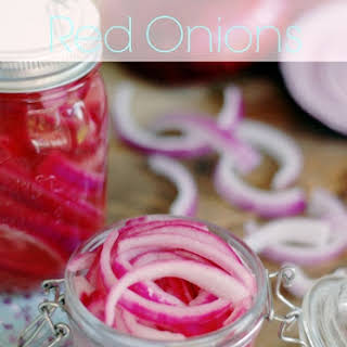Quick Pickled Red Onions.