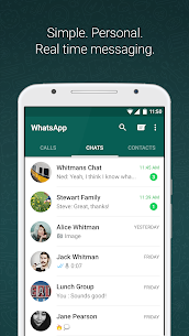 WhatsApp Messenger Beta (With Dark Mode) v2.20.26  Free Download For Android 1