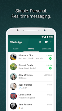 WhatsApp Messenger APK screenshot thumbnail 1