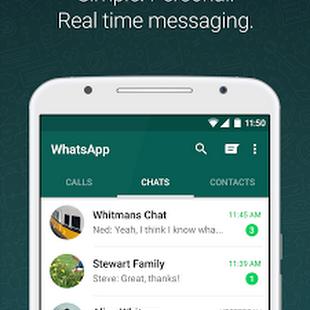 သူငယ္ခ်င္းမိတ္ေဆြေတြနဲ႔ Massage,Video,Voice ေတြဖရီးပို႔ႏိုင္တဲ႔-WhatsApp Messenger v2.12.561 APK For Android