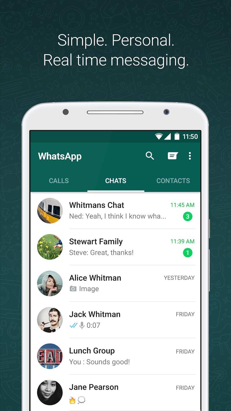 WhatsApp Messenger Screenshot 0