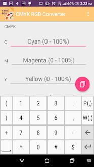 CMYK RGB Convertidor Gratis