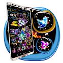 Colorful Fractal Lotus Theme icon