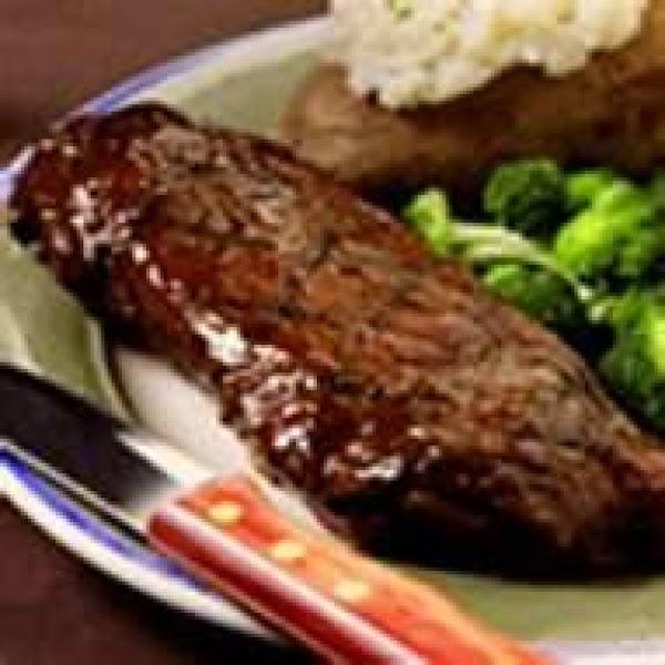 Beer Steak Grilled & Seasoned By Freda Recipe