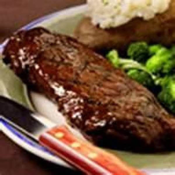 Beer Steak Grilled & Seasoned By Freda Recipe