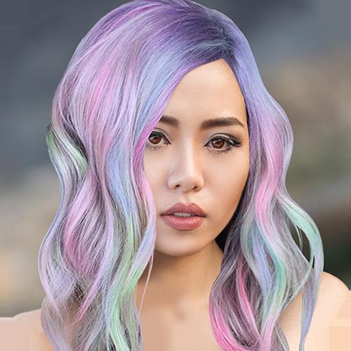 Hair Salon Makeover Dye my Hair Photo Editing App Icon