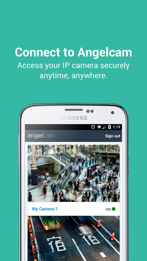 Angelcam Viewer- screenshot