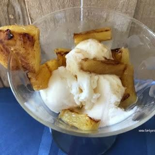 Cinnamon Brown Sugar Grilled Pineapple Parfait Recipe